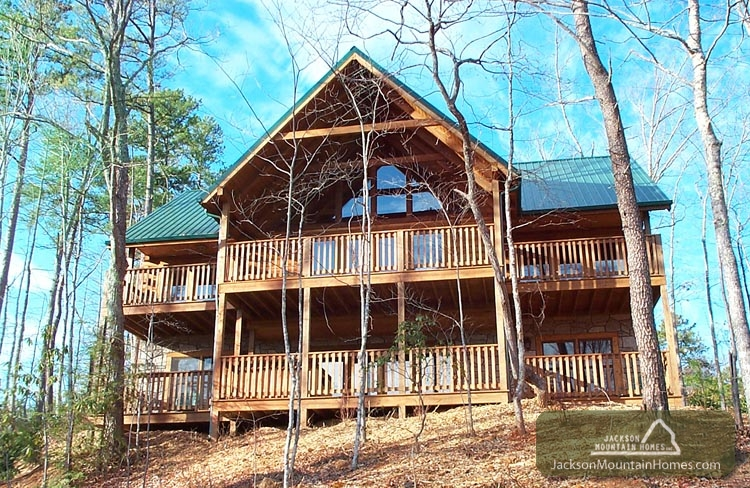 mountain in gatlinburg rentals serenity cabin smoky dreams cabins resort